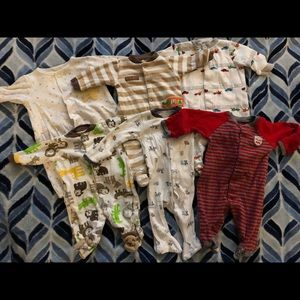Newborn pajama bundle